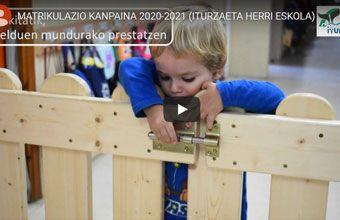 MATRIKULAZIO KANPAINA 2020-2021