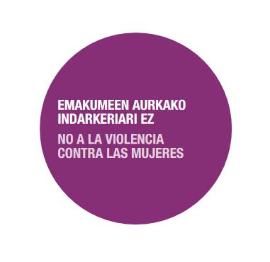 AZAROAK 25, EMAKUMEEN AURKAKO INDARKERIARI EZ!